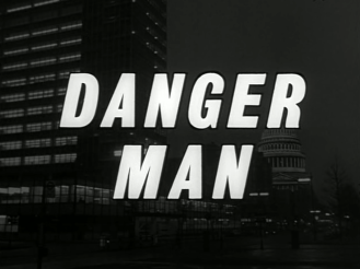 Danger Man Opening Title Shot