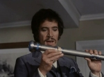 Peter Wyngarde discovering the secret recording