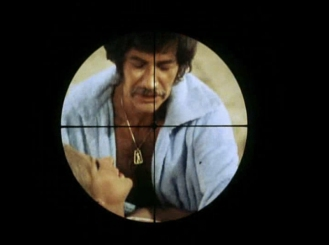 Peter Wyngarde in the sights