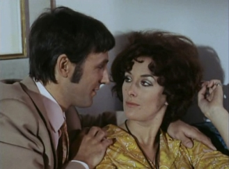 David Sumner as Dr. Wolf and Sue Lloyd as Brigitte