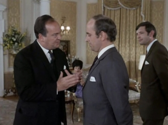 Strafford Johns as Paul Trenton and Michael Robbins as Burton