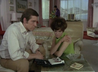 Joel Fabiani and Rosemary Nicols