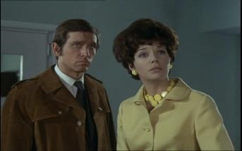 Joel Fabiani as Stewart Sullivan and Rosemary Nicols as Annabelle Hurst
