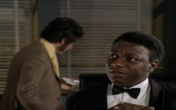 Dennis Alaba Peters as Sir Curtis Seretse and Peter Wyngarde as Jason King