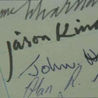 Jason King's Signature