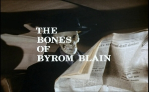 Department S_The Bones of Byrom Blain Title Shot