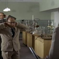 John Cazabon as Chemist