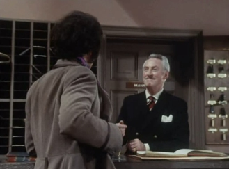 Peter Wyngarde as Jason King and Alan Wheatley as Carter