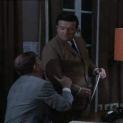 David Healy as Ramos and Peter Arne as Segres