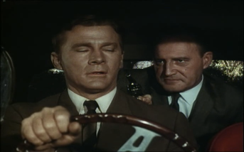 Steve Forrest and David Bauer in The Baron
