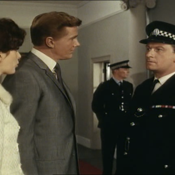 Steve Forrest in The Baron