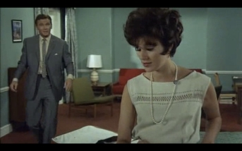 Sue Lloyd as Cordelia Winfield and Steve Forrest as the Baron