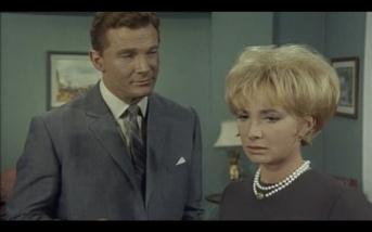 Steve Forrest as the Baron and Dora Reisser as Eva Dummel