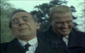 Artro Morris as Owen Davies and Nosher Powell as Charlie