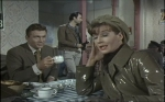 Lois Maxwell as Charlotte Russell and the Baron