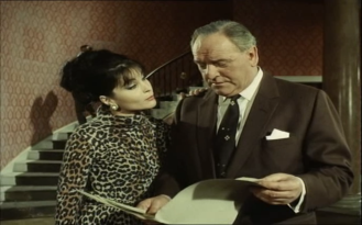Bernard Lee in The Baron