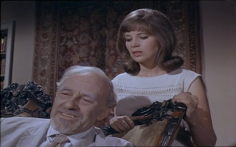 Harold Goldblatt as Olmira and Jane Merrow as Savannah Olmira