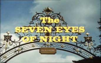 The Seven Eyes of Night Title Shot