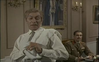 Peter Wyngarde in The Baron