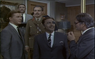 Peter Wyngarde in The Baron
