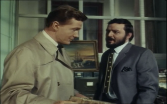 Steve Forrest and Peter Bowles in the Baron
