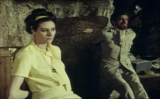 Sue Lloyd and Alex Scott in the Baron