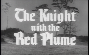 The Knight with the Red Plume Title Shot