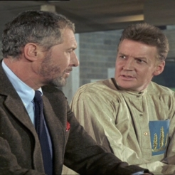 Anthony Quayle and Ray McAnally