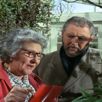 Nan Braunton as Miss Blake and Anthony Quayle as Adam Strange