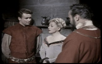 William Russell, Jane Hylton and Ronald Leigh-Hunt