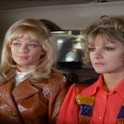 Anneke Wills and Elaine Taylor