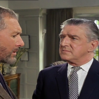 Anthony Quayle and Basil Dignam