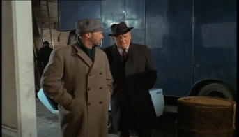 Anthony Quayle and Bernard Lee