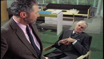 Anthony Quayle and John Laurie