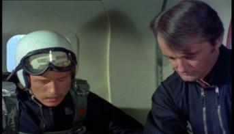 Nicholas Jones as Ransome and Robert Vaughn as Harry Rule