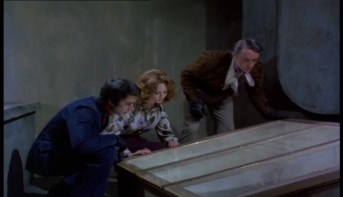 Robert Vaughn, Tony Anholt and Nyree Dawn Porter