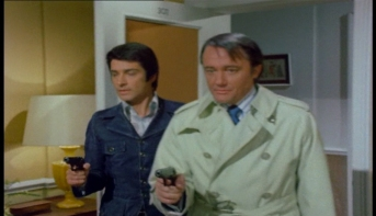 Robert Vaughn and Tony Anholt