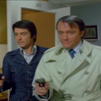 Robert Vaughn and Tony Anholt