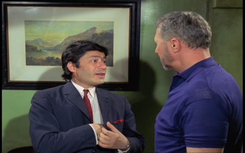 Saeed Jaffrey as Ameen and Anthony Quayle