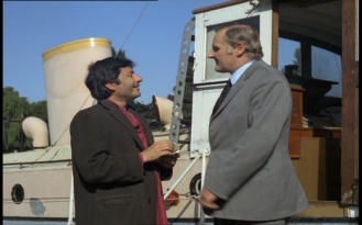 Peter Vaughan and Saeed Jaffrey