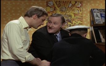 Kaz Garas and Peter Vaughan
