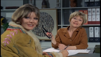 Anneke Wills and Renee Asherson