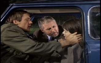 Kaz Garas, Anthony Quayle and Sally Geeson