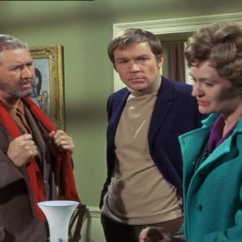 Anthony Quayle, Kaz Garas and Ruth Trouncer