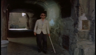 Alan Webb as the Blind Man