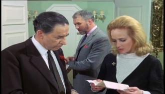 Leo Genn, Sylvia Syms and Anthony Quayle