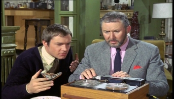 Anthony Quayle and Kaz Garas