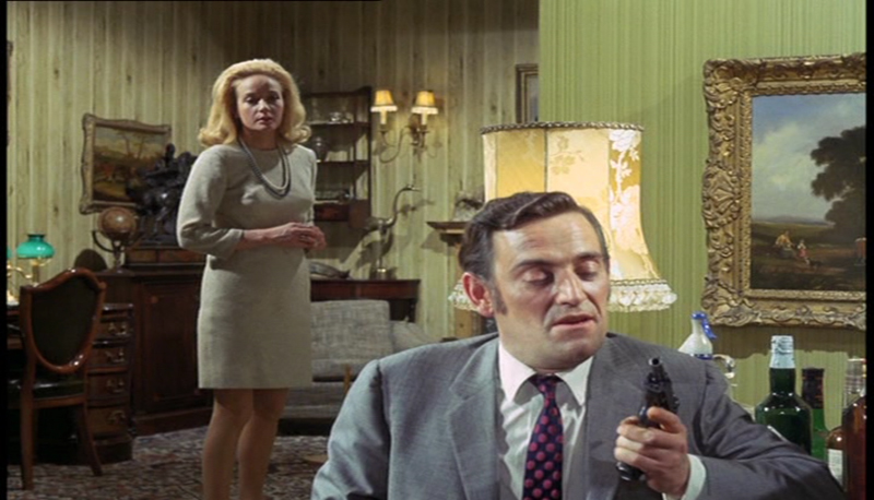 Gerald Flood and Sylvia Syms