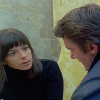 Diane Mercer and Robert Vaughn