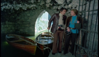 Tony Anholt and Nyree Dawn Porter
